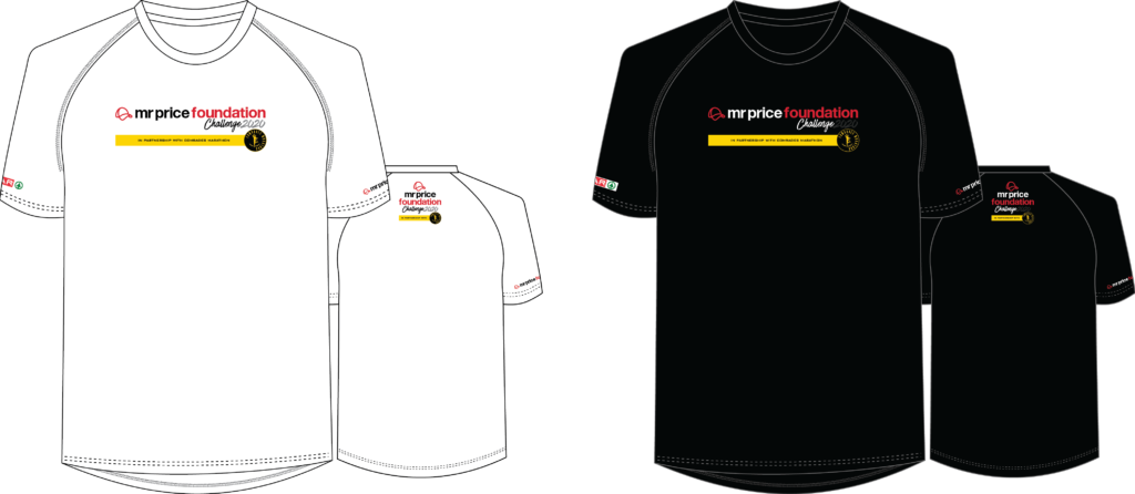 Mr Price Foundation Challenge Event Shirt