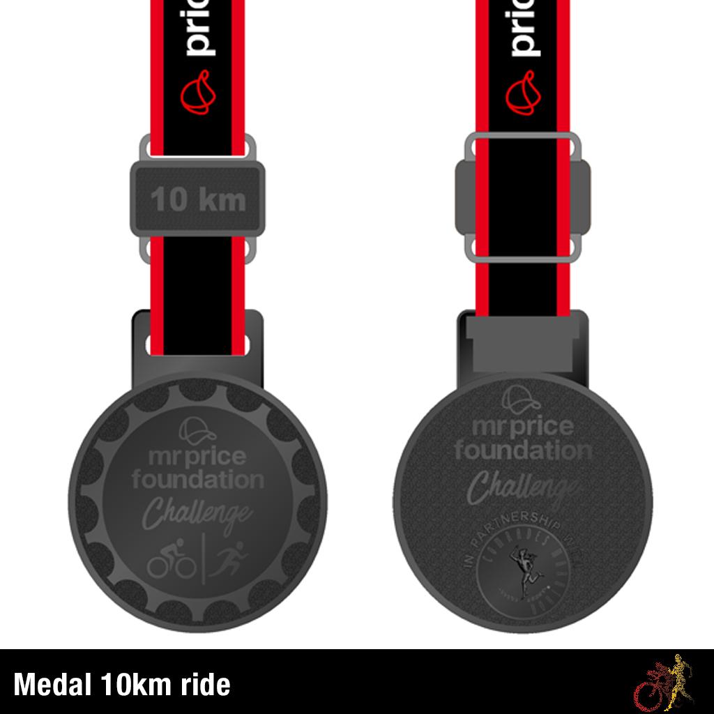Mr Price Foundation Challenge Medal 10km Run