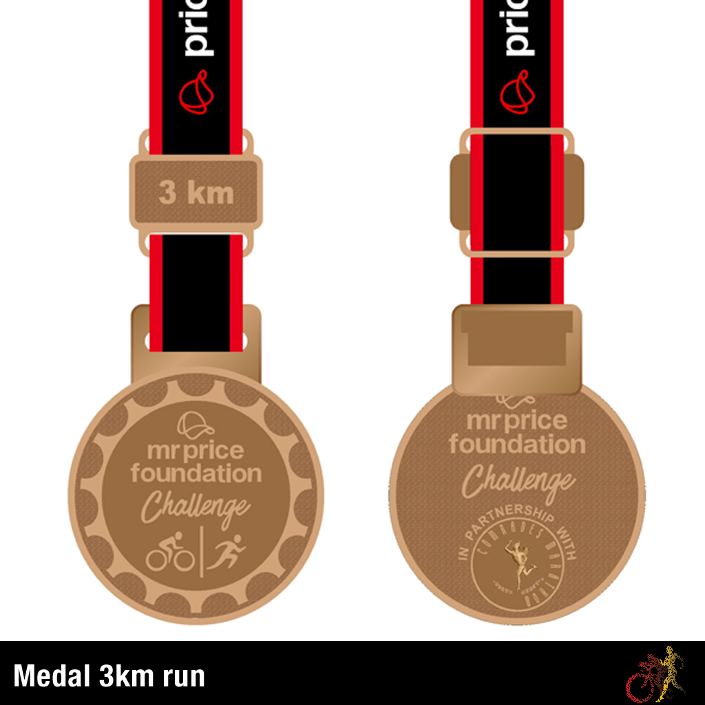 Mr Price Foundation Challenge Medal 3km Run