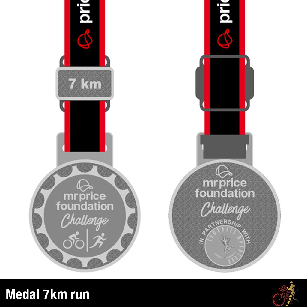 Mr Price Foundation Challenge Medal 7km Run