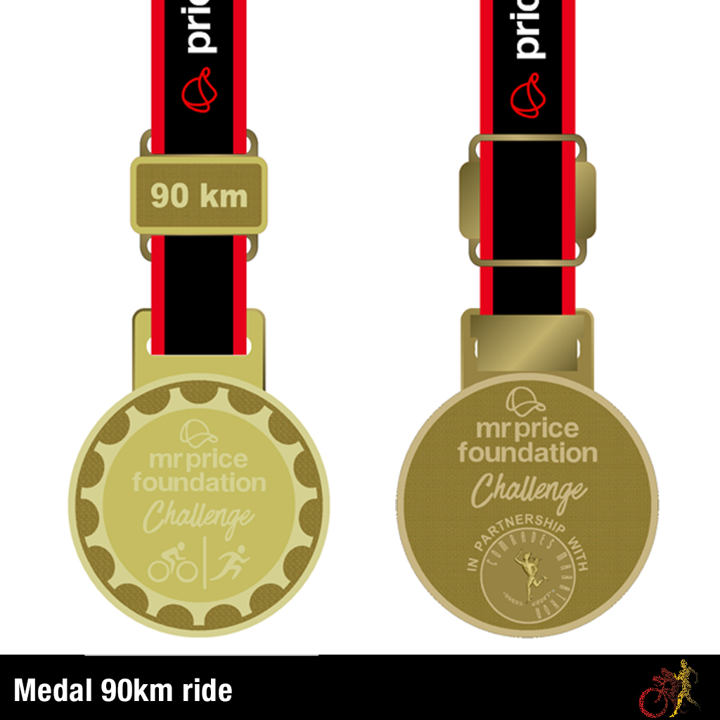 Mr Price Foundation Challenge Medal 90km Ride